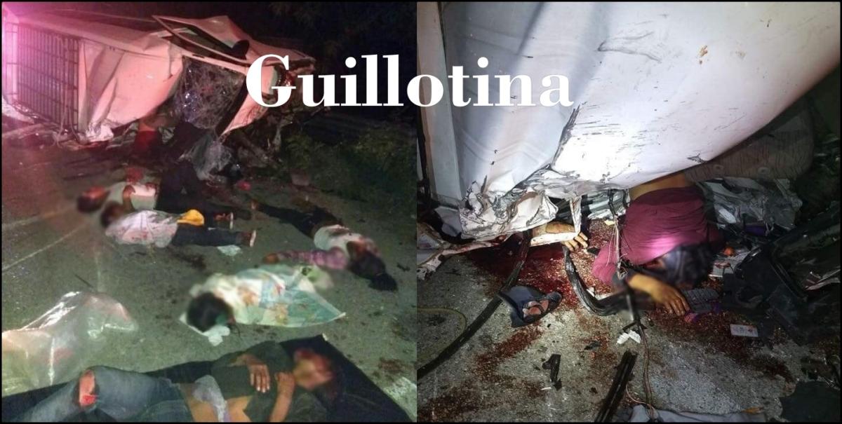 Fotos: Accidente en la Chetumal - Escarcega deja 9 muertos entre ellos  niños