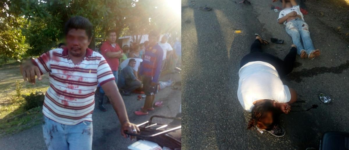 Video: Dos motos chocan violentamente en Corregidora en Centro, Tabasco